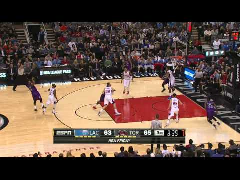 Los Angeles Clippers vs Toronto Raptors | February 6, 2015 | NBA 2014-15 Season