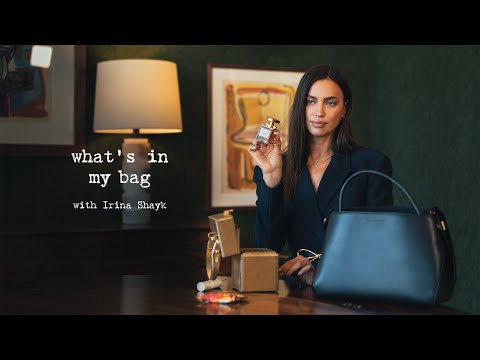 Alibi | What's in My Bag with Irina Shayk