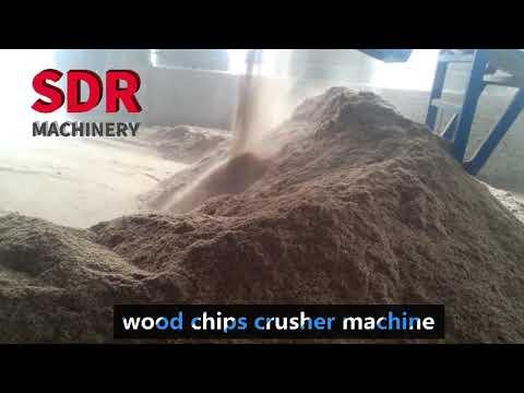 Professional Wood Sawdust Making Machine,wood Chips Crusher Machine