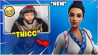 DAEQUAN Reacts To *NEW* MAKI MASTER *RARE* Skins In Item Shop!