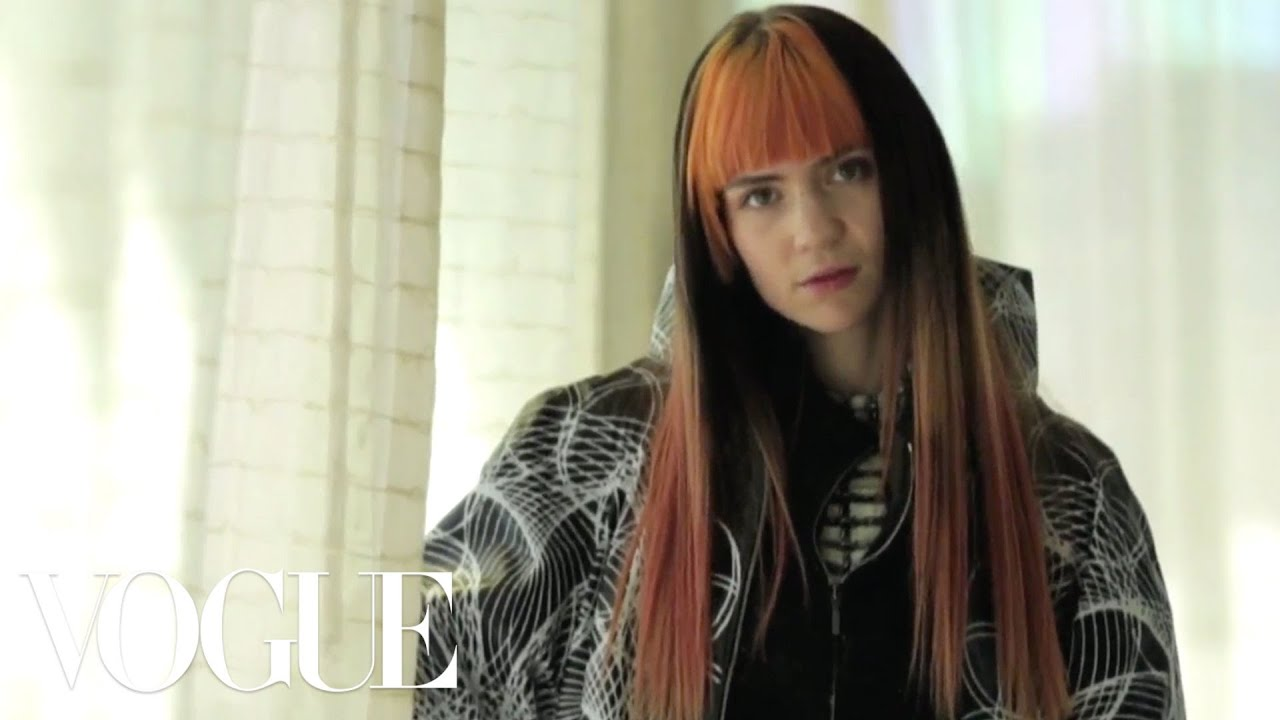 Grimes Gets Ready for The Met Gala - Vogue - Met Gala