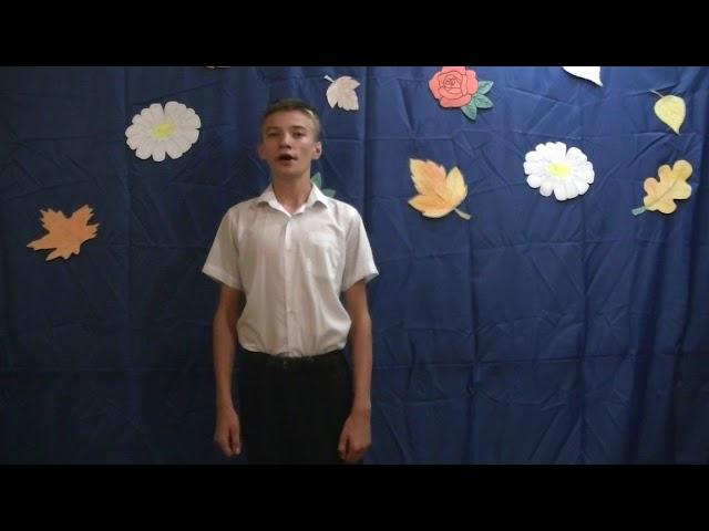 Изображение предпросмотра прочтения – ВладимирДемьяненко читает произведение «Поёт зима— аукает…» С.А.Есенина
