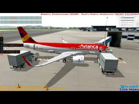 [X-plane11] FSAirlines InerzA Colombia IFR #11 | Bogota - Sa