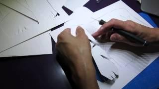 ClassPlan - stacked paper cut