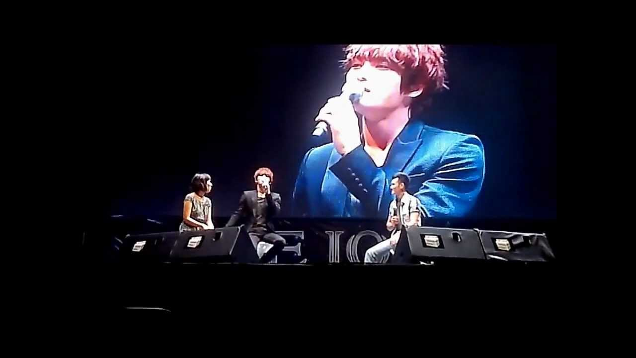 [Fancam] 121110 Jae Joong FanMeeting in VietNam - Say Hello, Love you and  Thank you in vietnamese