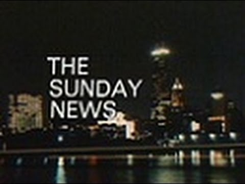 WBBM Channel 2 - The Sunday News (Part 1, 1971)