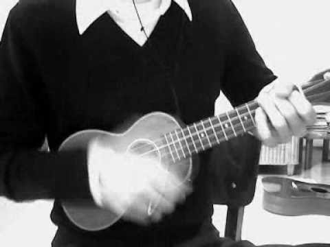 bob dylan visions of johanna ukulele cover - YouTube