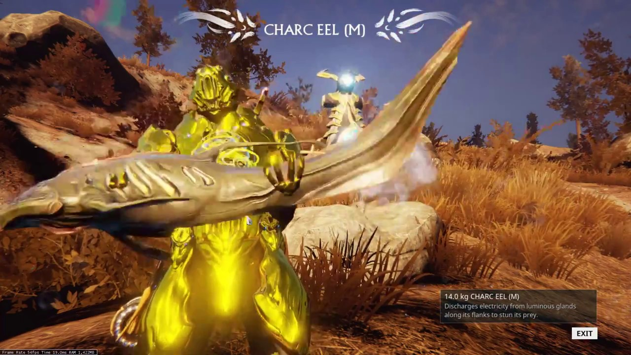 how to catch fish in warframe