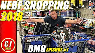 Nerf Shopping 2018 | Toys R Us Nerf Gun Closing Sale | OMG BEST SPREE