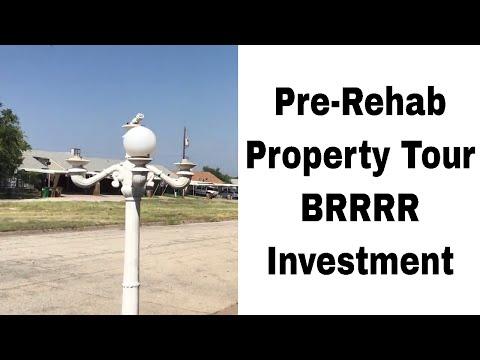 Real Estate Investing - Pre-Rehab Tour - BRRRR Method