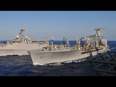 MSC's USNS Kanawha Keeps the Fleet Operational
