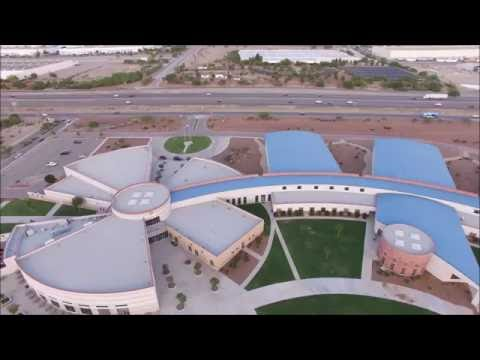 Canutillo High School Drone Action