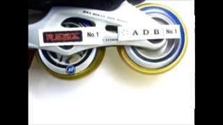 レオナルド・ダ・ヴィンチの次のベアリングのスケート用テスト、その摩擦はBonesの55%。
