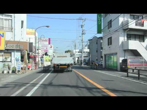 Driving around Hiratsuka, Kanagawa prefecture