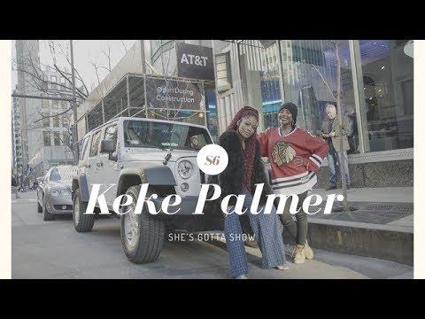 Akisha Lockhart Interviews Actress & Singer Keke Palmer (Jeep Season 6)
