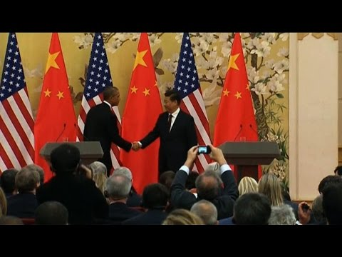 Obama Reaches Climate Deal with China