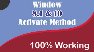 How to Active Window 10/8/8.1/7