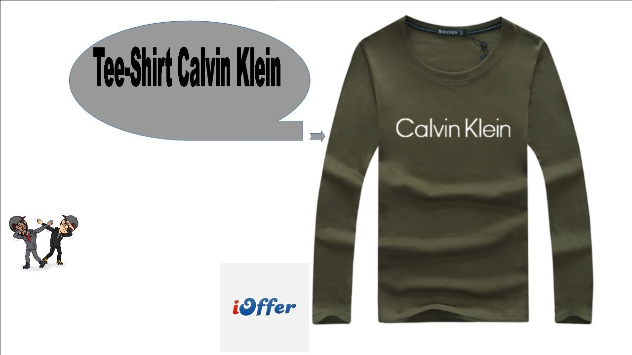 Youtube Calvin Shirt Unboxing Ioffer Tee Klein XYqfnvg1