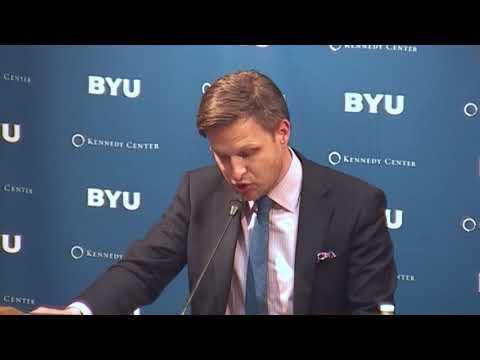 Dr. Jonathan AC Brown - Currents Debates within Islam   BYU Kennedy Center