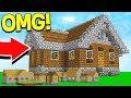 WORLD'S BIGGEST MINECRAFT POCKET EDITION HOUSE!