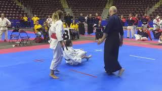 Klaudia Mleko - Mistrzostwa Świata w Karate Kanada 2018