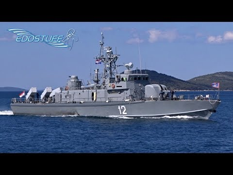 Hrvatska Ratna Mornarica / Croatian Navy - Entering Split Harbor & OSRH Day 2017 - Croatia HD