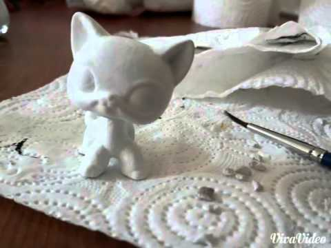 Lps Shorthair Cat Custom Youtube