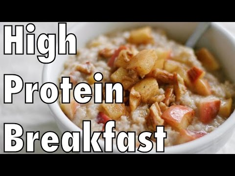 High Protein Breakfast for Fat Loss and Muscle Tone