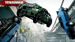 Burnout Paradise Extreme Race Car Crashes