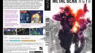 Metal Gear Ac!d - On Alert (10-minute version)