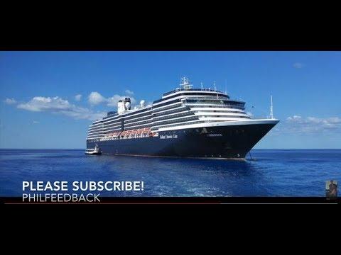 Sunset -  Panama Canal cruise on Holland America Line ship ms Zuiderdam. Oct. 2014.