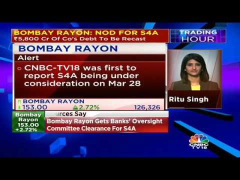 Bombay Rayon Gets Banks' Oversight Committee Clearance For S4A