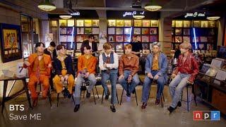 BTS (방탄소년단) - Save Me full live perf NPR Tiny Desk Home Concert Stripped down version