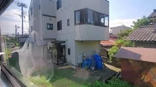SLばんえつ物語 新津駅発車~車内放送