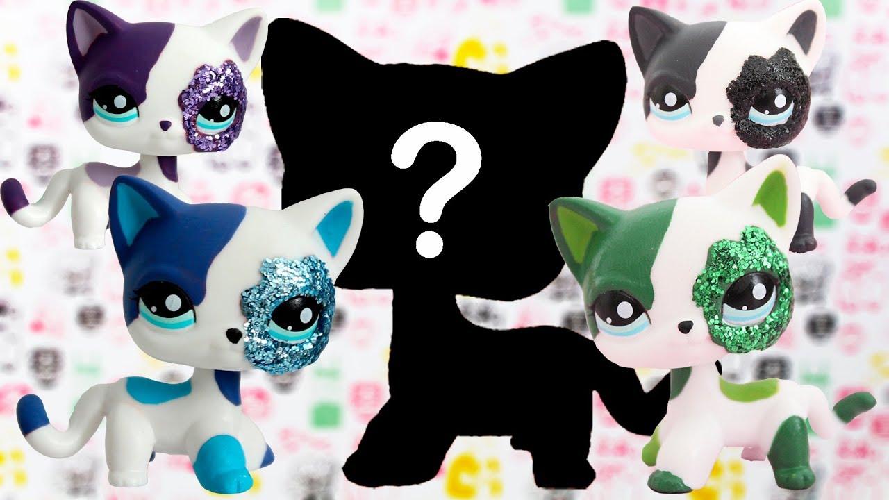 Lps 5 New Glitter Shorthair Cats 2291 Customs Ebay Sale