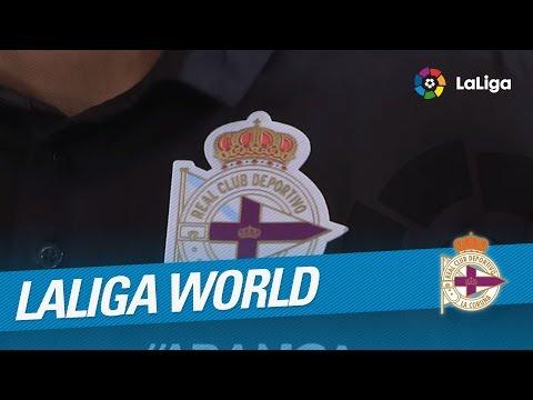El RC Deportivo y LaLiga World, juntos de nuevo en Montevideo
