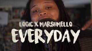 Marshmello X Logic - EVERYDAY (Kid Travis Cover)