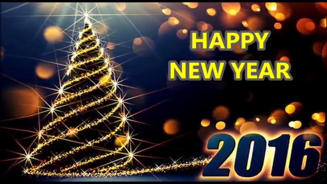 Happy New Year 2016 - Beautiful Wishes/New Year greetings ...