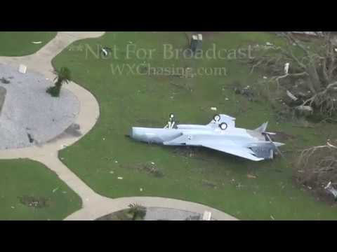 Tyndall Airforce Base Hurricane Michael Aftermath - Panama City, FL - 10/11/2018