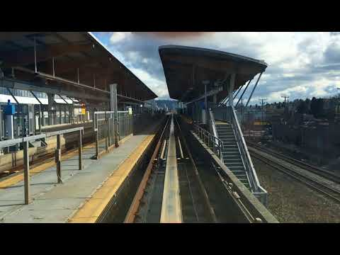 Vancouver/Burnaby Skytrain Ride