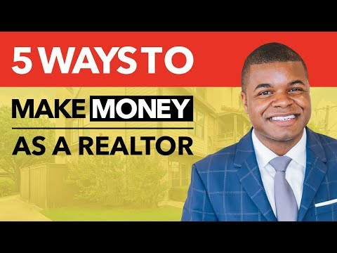 Ways to make extra money with a real estate license