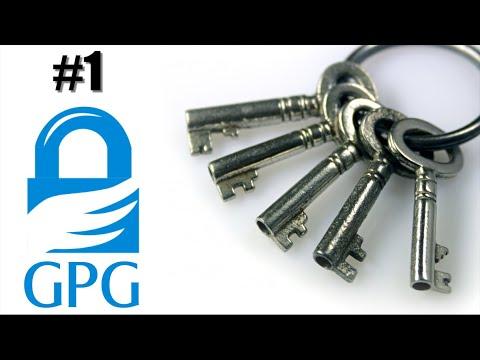 GPG - 1 Keys