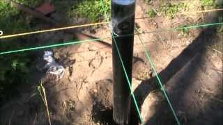 Свайный фундамент. Разметка своими руками и установка винтовых свай фундамента(, 2014-03-22T09:07:02.000Z)