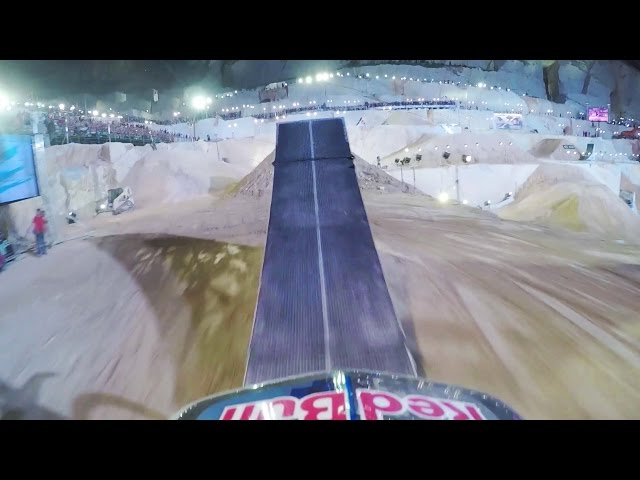 Dany Torres Freestyle Motocross POV - Red Bull X-Fighters Athens 2015