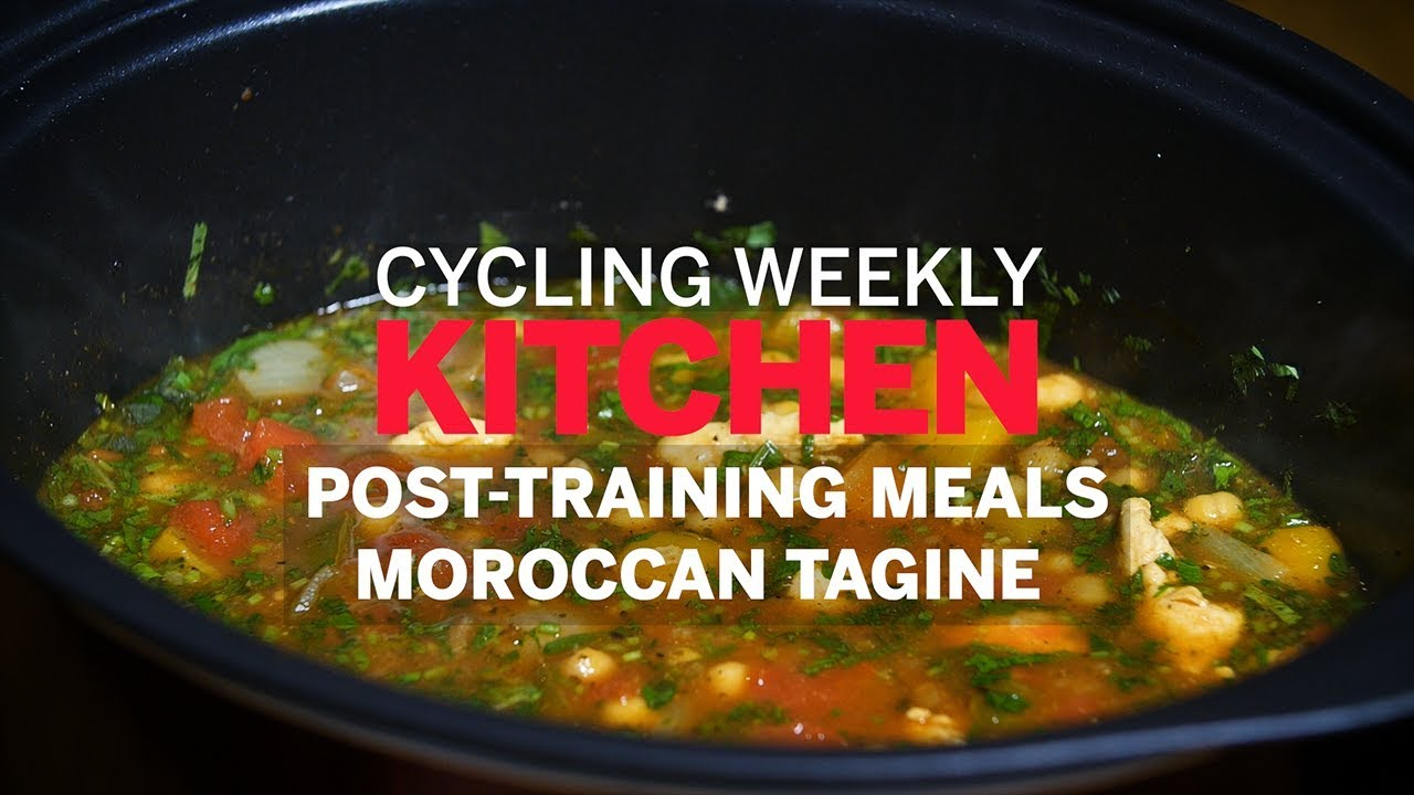 Post-training meals: Chicken and chickpea Moroccan-style tagine | Cycling Weekly