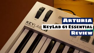 ARTURIA KeyLab 61 Essential MIDI Keyboard Controller Review