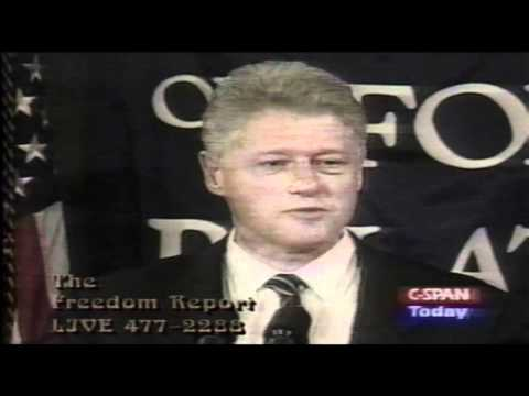 Alex Jones Comments on Bill Clinton CFR Speech Thanking David Rockefeller