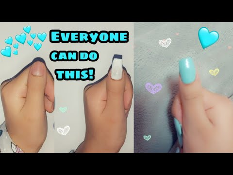 HOW TO MAKE FAKE NAILS WITH HOME SUPPLIES! {easy/fast} *2019
