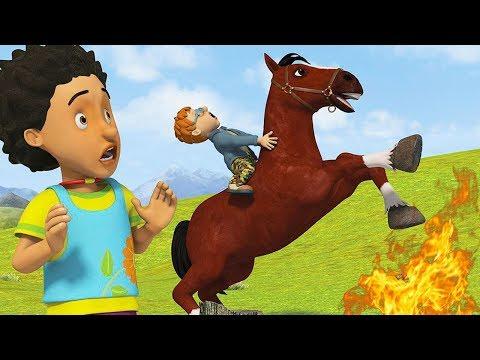 Fireman Sam US New Episodes HD | Runaway Horse - Norman on the Loose | Big Marathon 🚒 🔥 Kids Movies