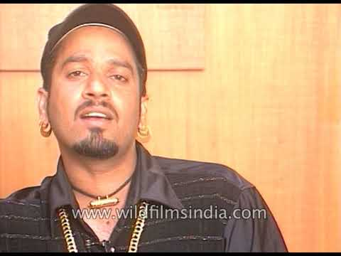 Young Jazzy B performs a song from one of his albums